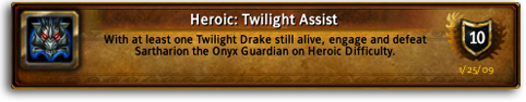 Heroic: Twilight Assist Achievement