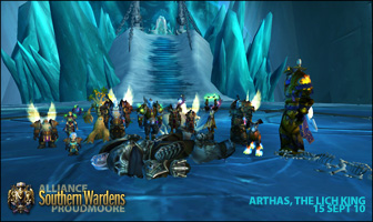 Arthas kill shot