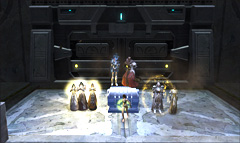 The loot box of the Infernal Council, who are ded from Wardens out of the frame.