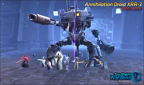 Annihilator Droid XRR-3, Hard Mode ded.