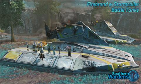 Firebrand & Stormcaller, ded.
